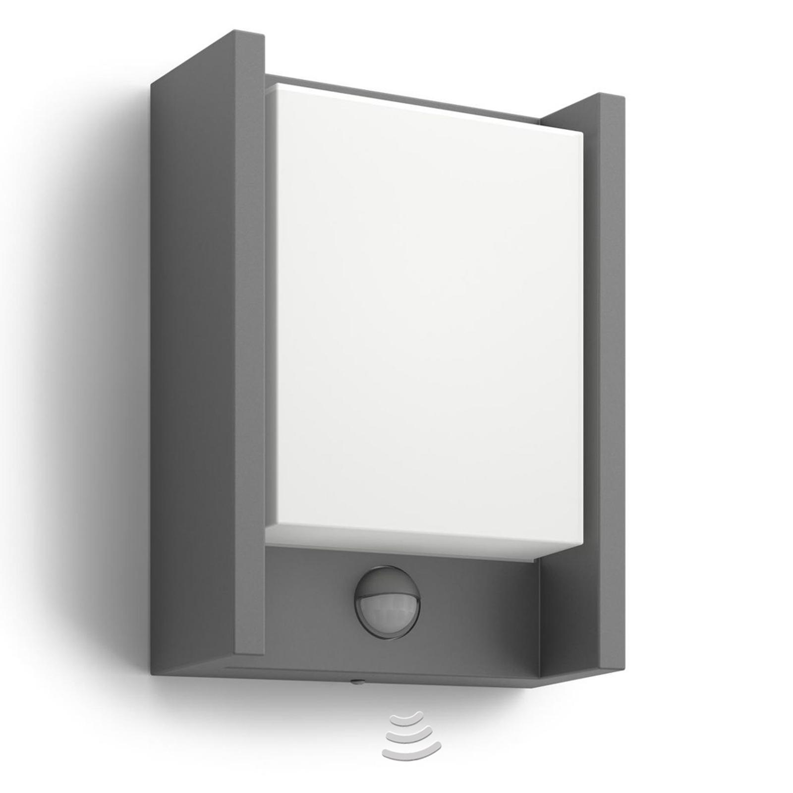 Philips Arbour LED-Außenwandleuchte 1-flg. Sensor