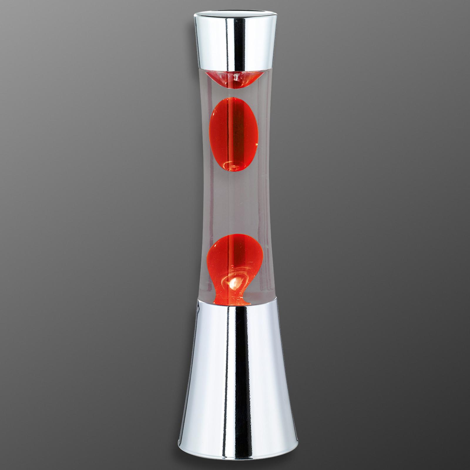 Lámpara de lava Jarva para una atmósfera acogedora