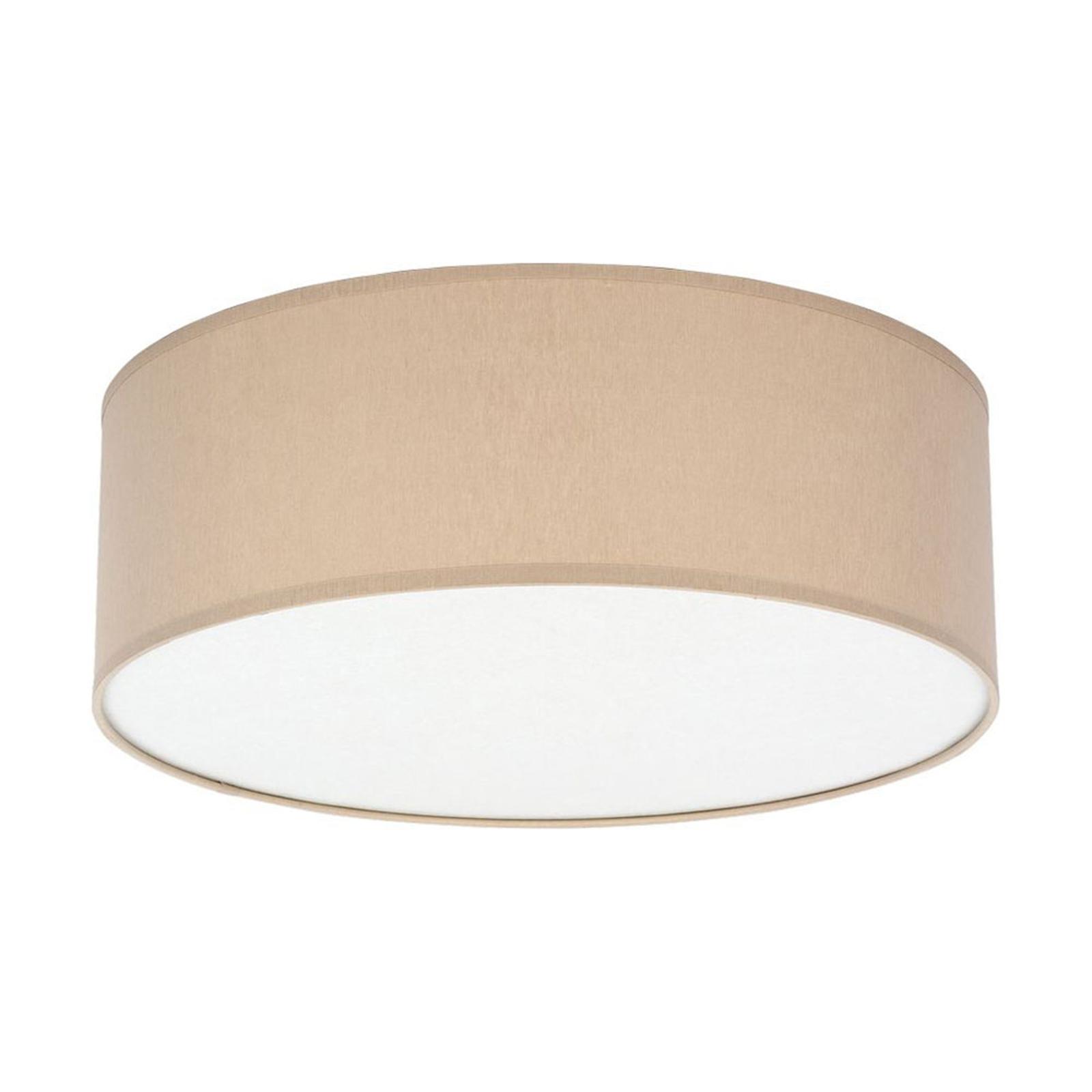 Taklampe Rondo, Ø 38 cm, beige