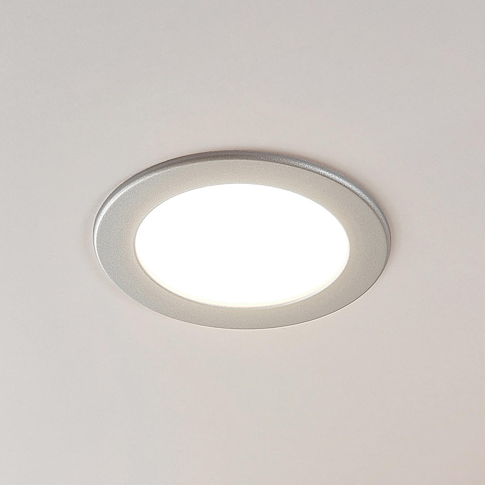 Spot LED Joki srebrny 3000K okrągły 17cm