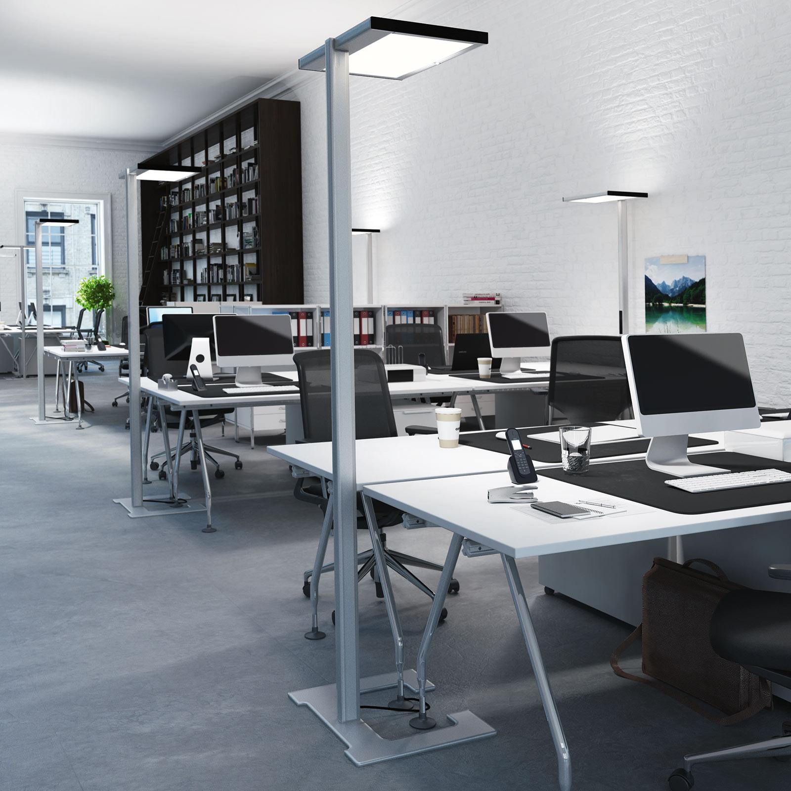 Luctra Vitawork LED kantoor vloerlamp 12000lm PIR
