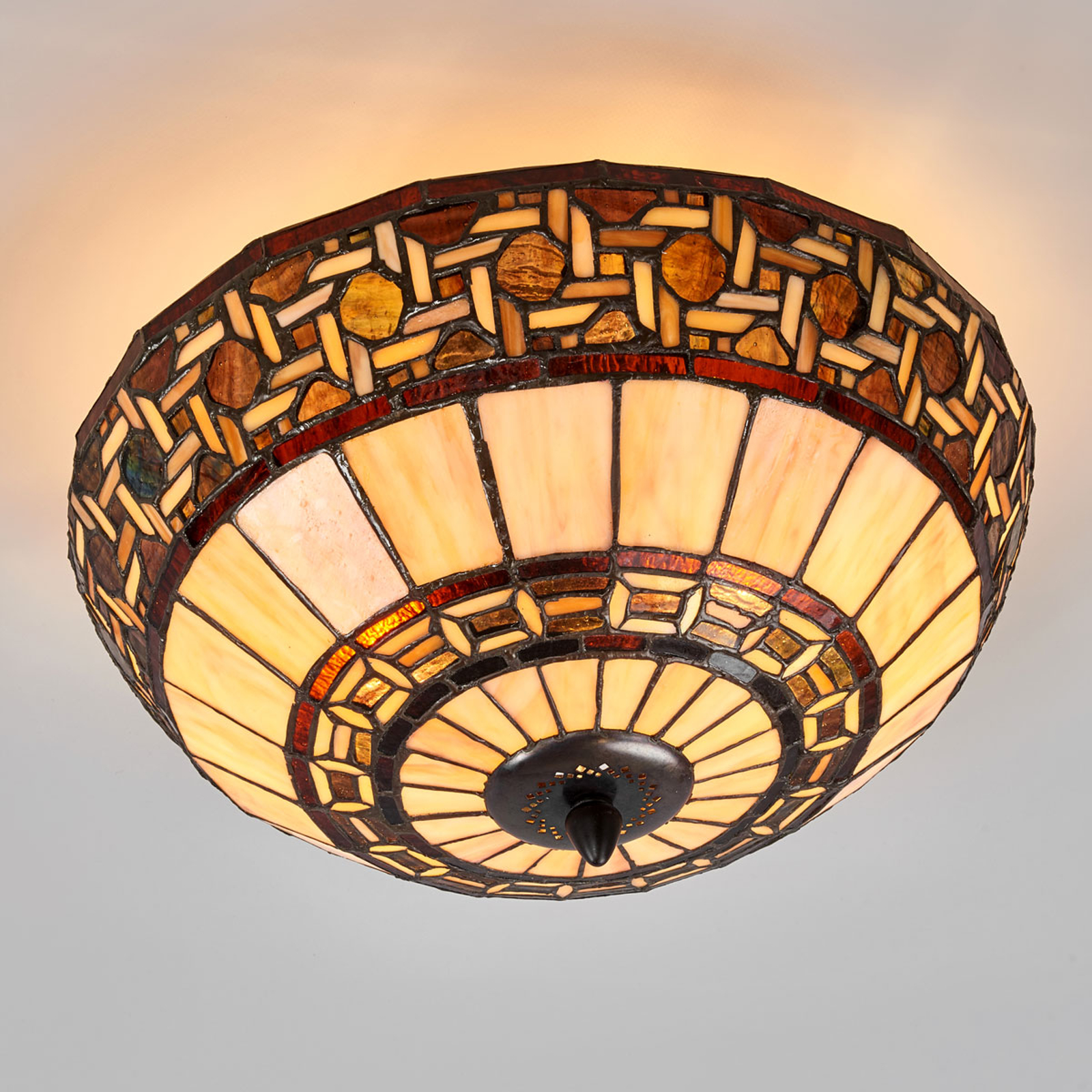 Ceiling lamp Wilma in the Tiffany style_6064223_1