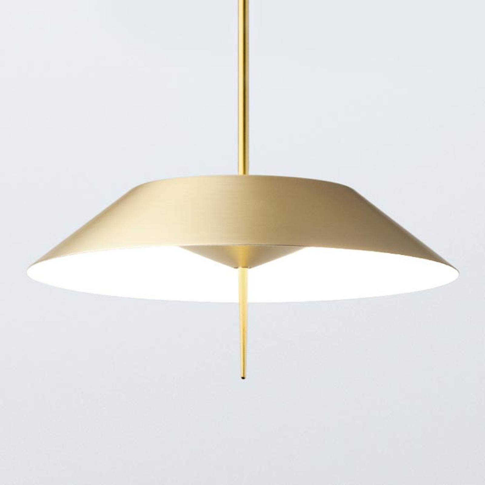 Vibia Mayfiar LED-Pendelleuchte 1-flg., gold