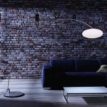 Lampa łukowa Sheyla, wbudowany ściemniacz
