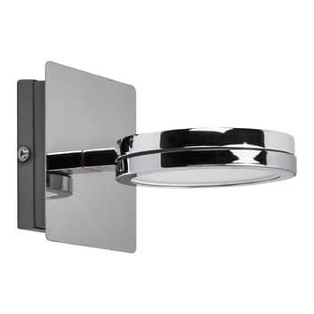 Lightme Aqua down LED-spejllampe, krom, 1 lyskilde