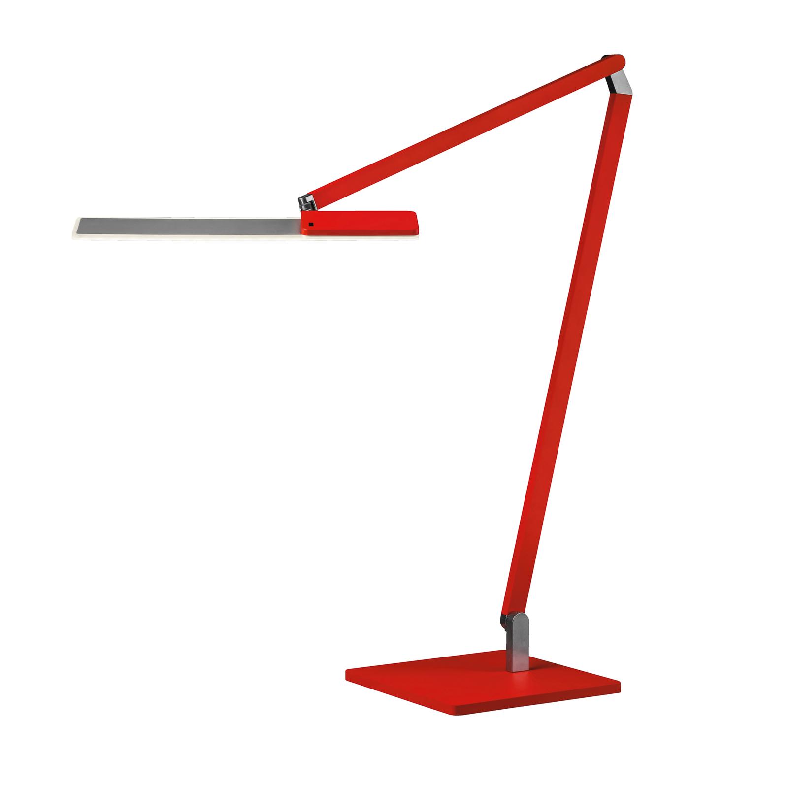 Nimbus Roxxane Office LED-Tischleuchte 940 neonrot