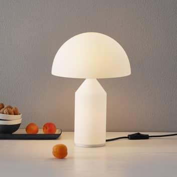 Oluce Atollo – Muranoglas-bordlampe, 35 cm