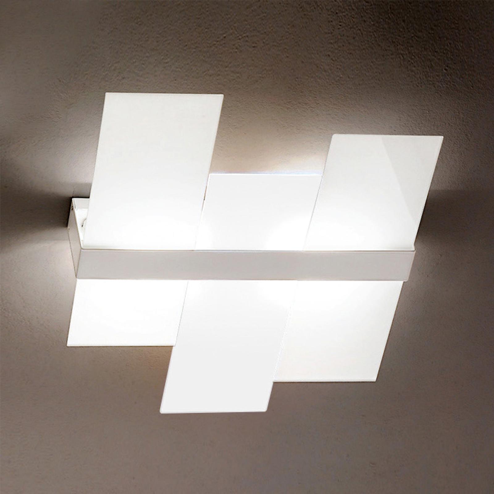 Nowoczesna lampa sufitowa Triad 62 cm biała