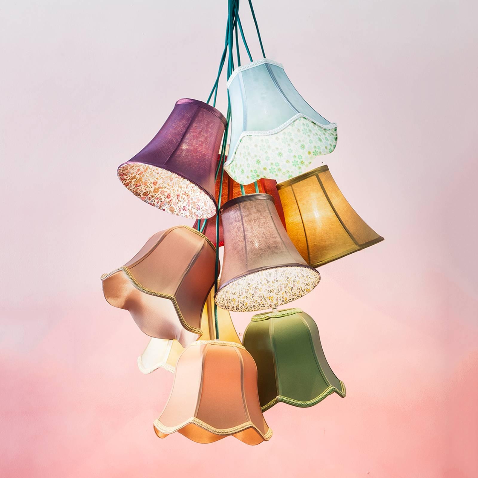 Saloon Flower - lampada a sospensione multicolore