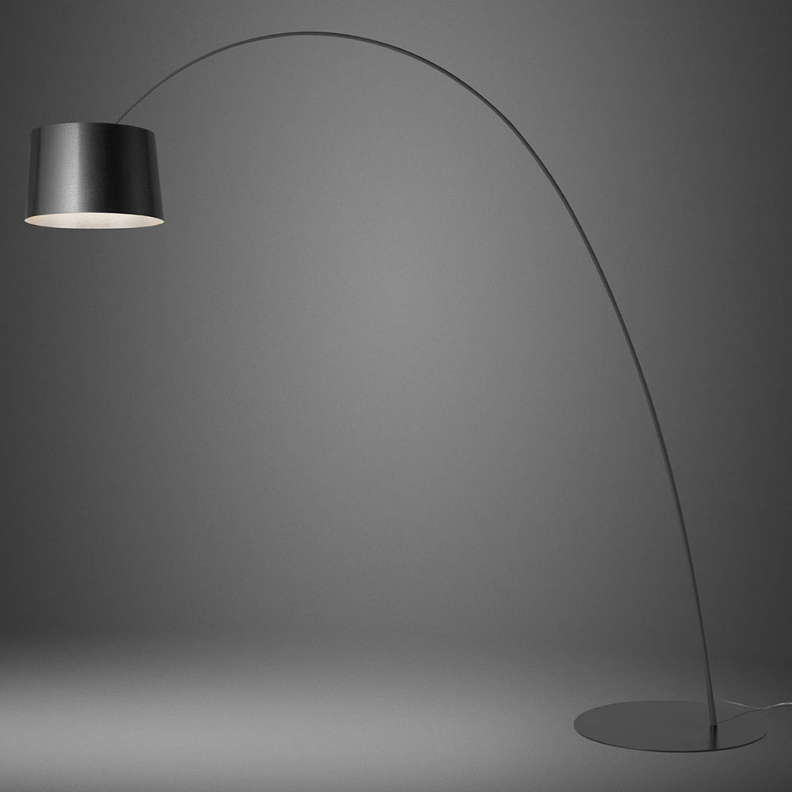 Foscarini Twiggy LED-Stehleuchte graphit