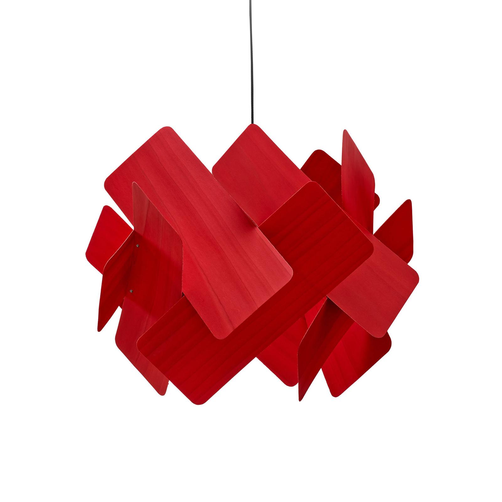 LZF Escape Hängeleuchte, Ø 30 cm, rot