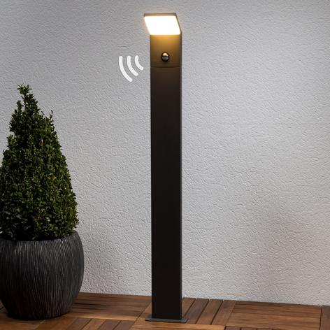 Borne lumineuse LED Nevio à détecteur de mouvement