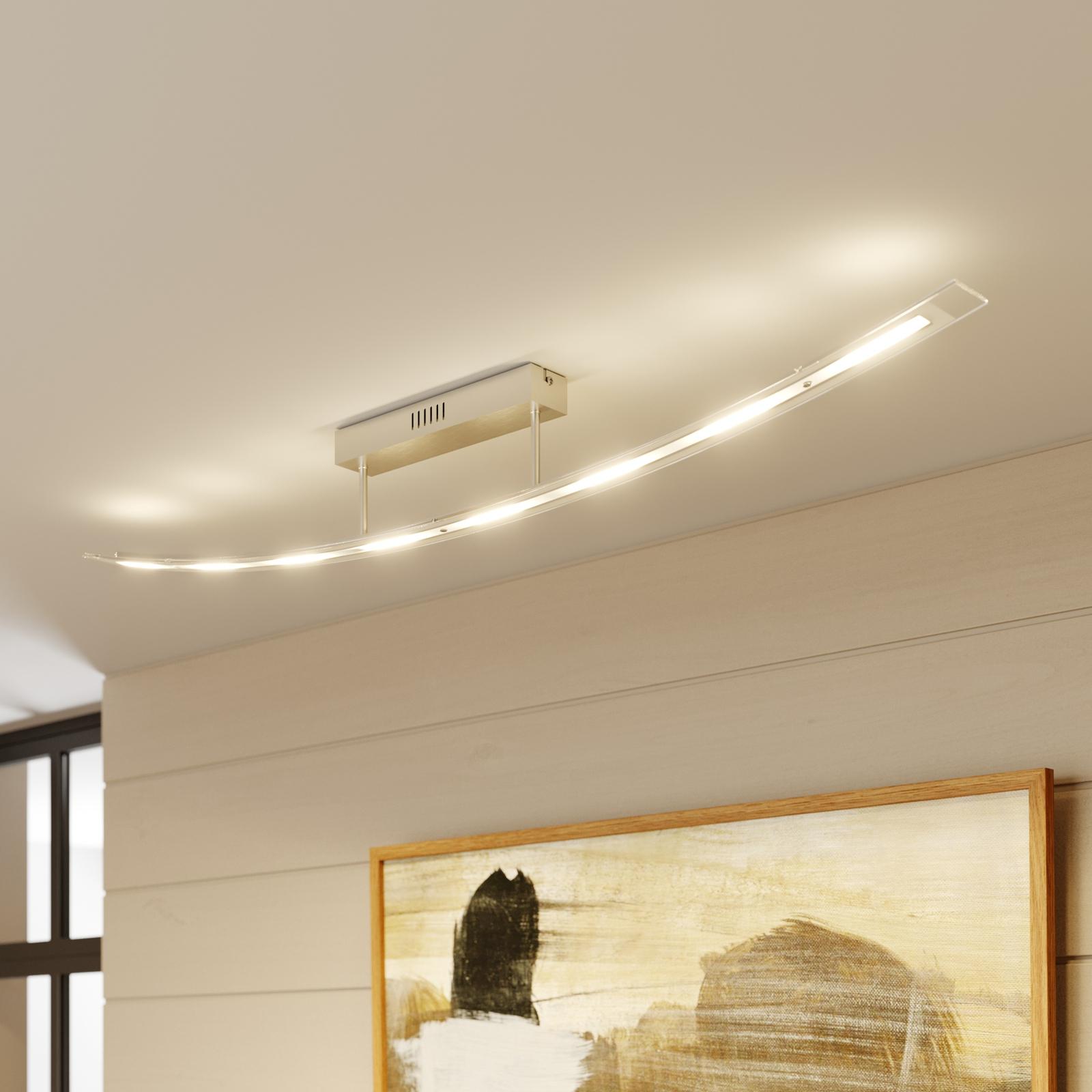 Klartlysende LED-loftlampe Jarda