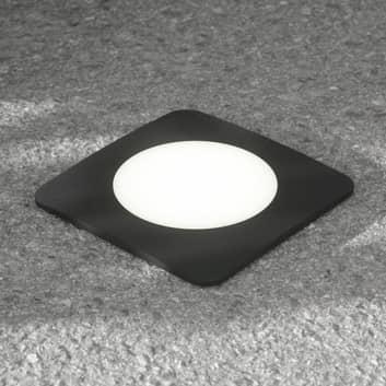 LED-uppovalo Ceci 160-SQ musta CCT