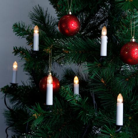 Guirnalda de velas LED