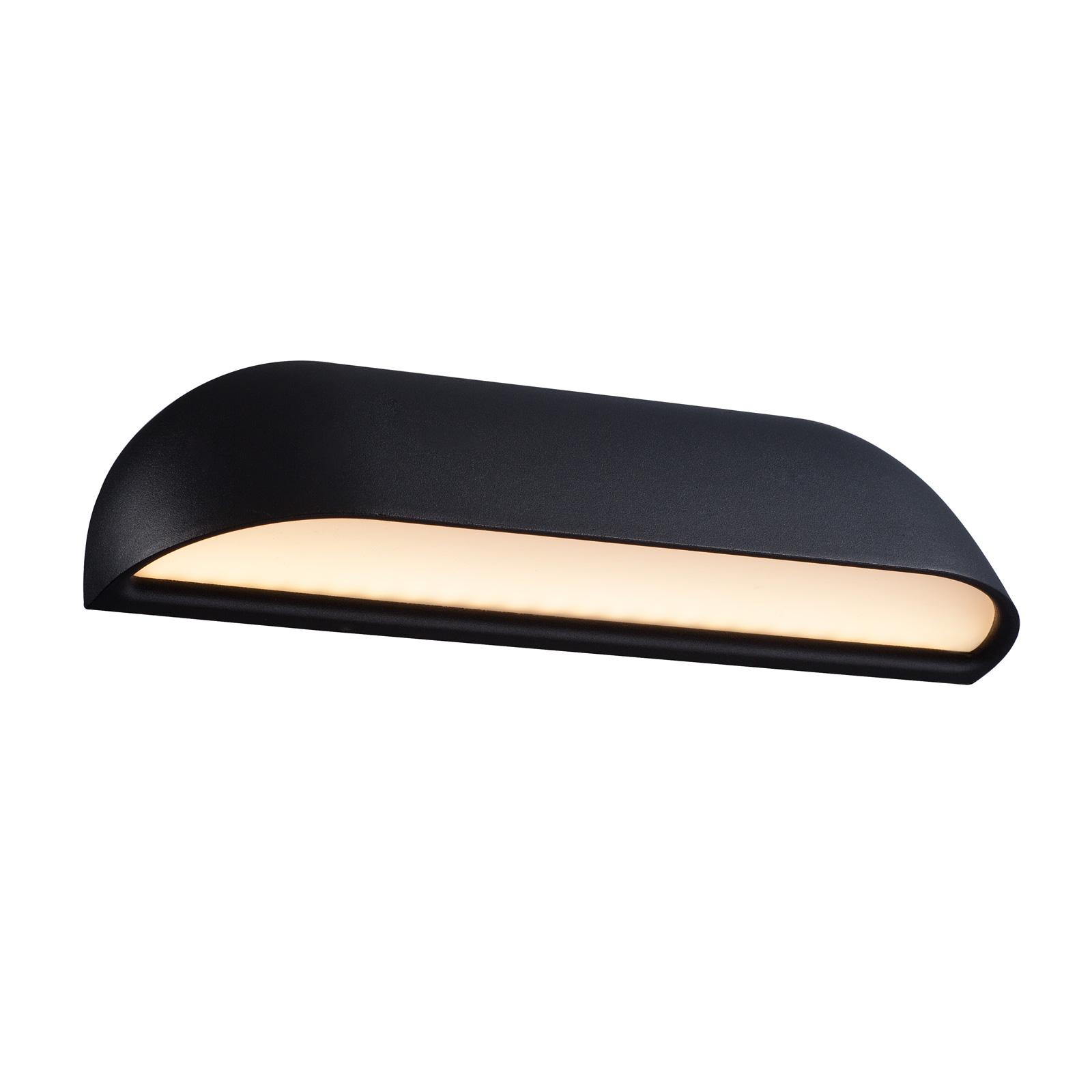 LED buitenwandlamp voorzijde 26, zwart