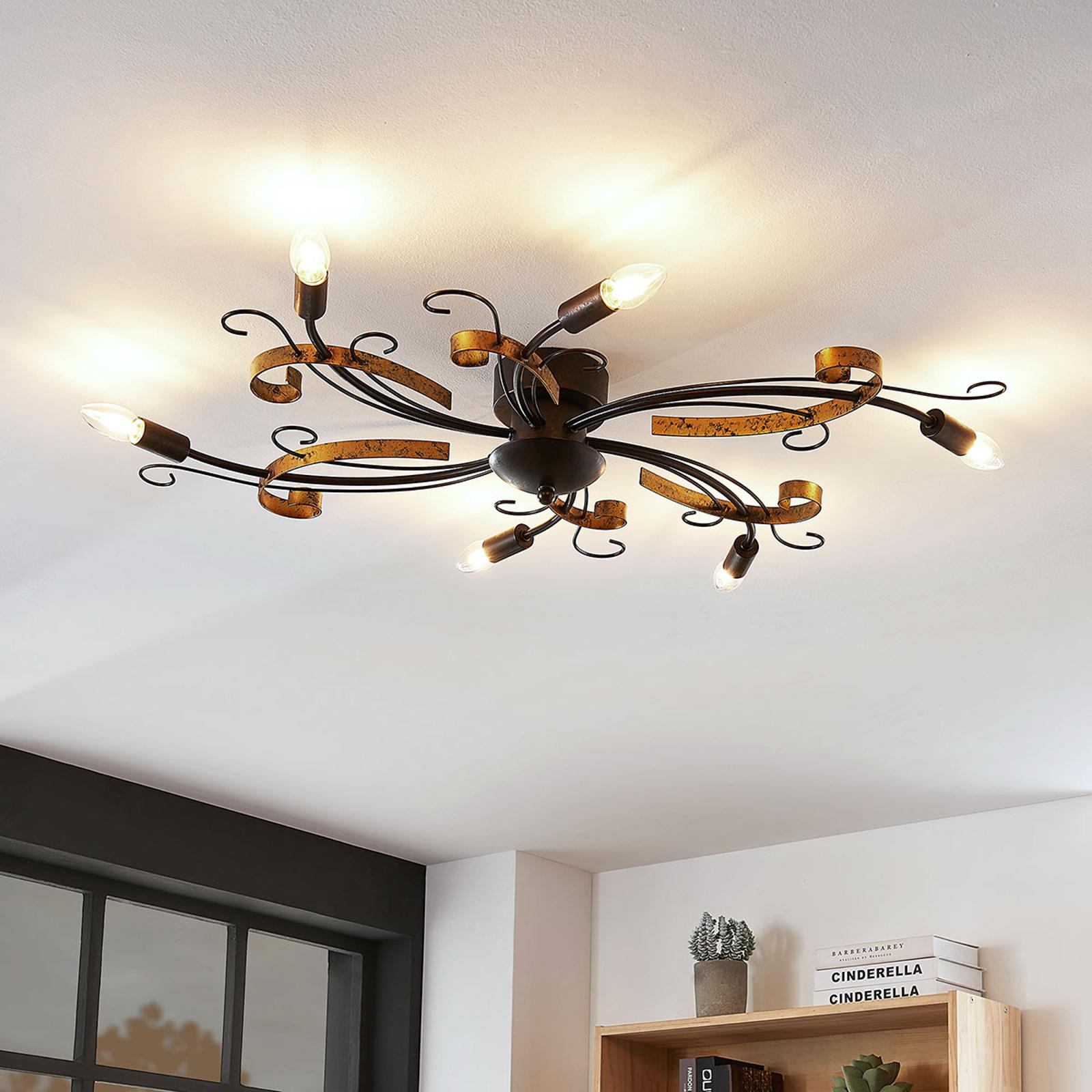 Lampa sufitowa Dalia w stylu florenckim