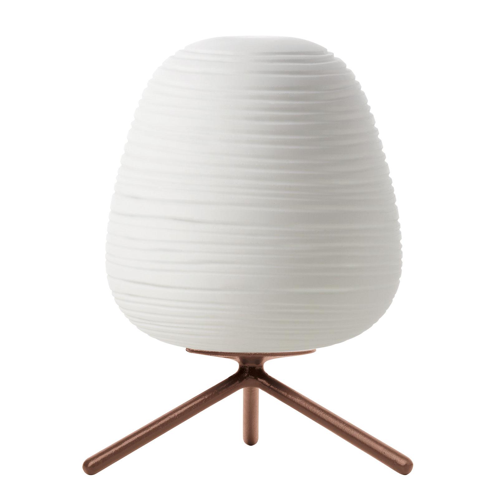 Foscarini Rituals 3 szklana lampa stołowa