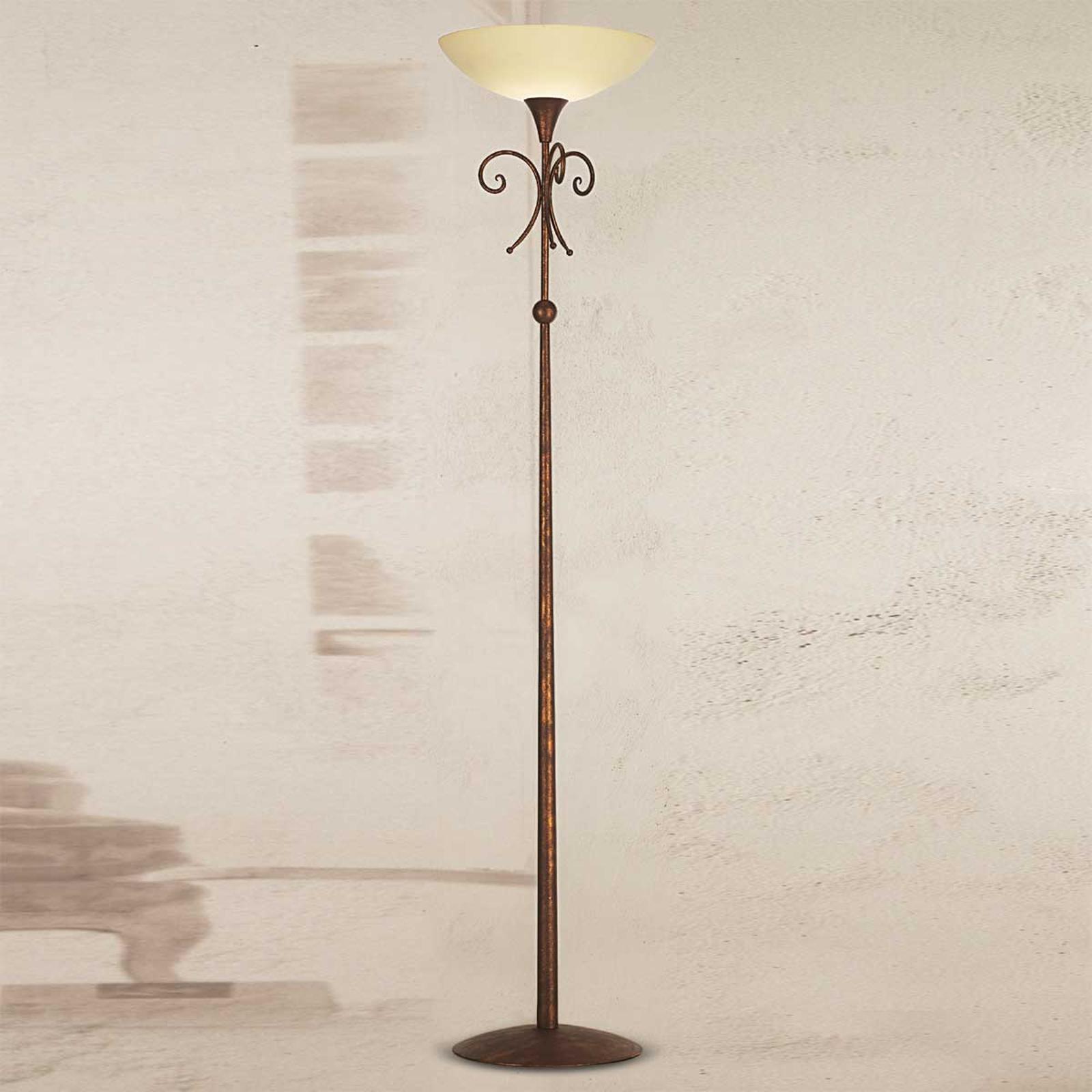 Lampa stojąca Federico antyczny brąz