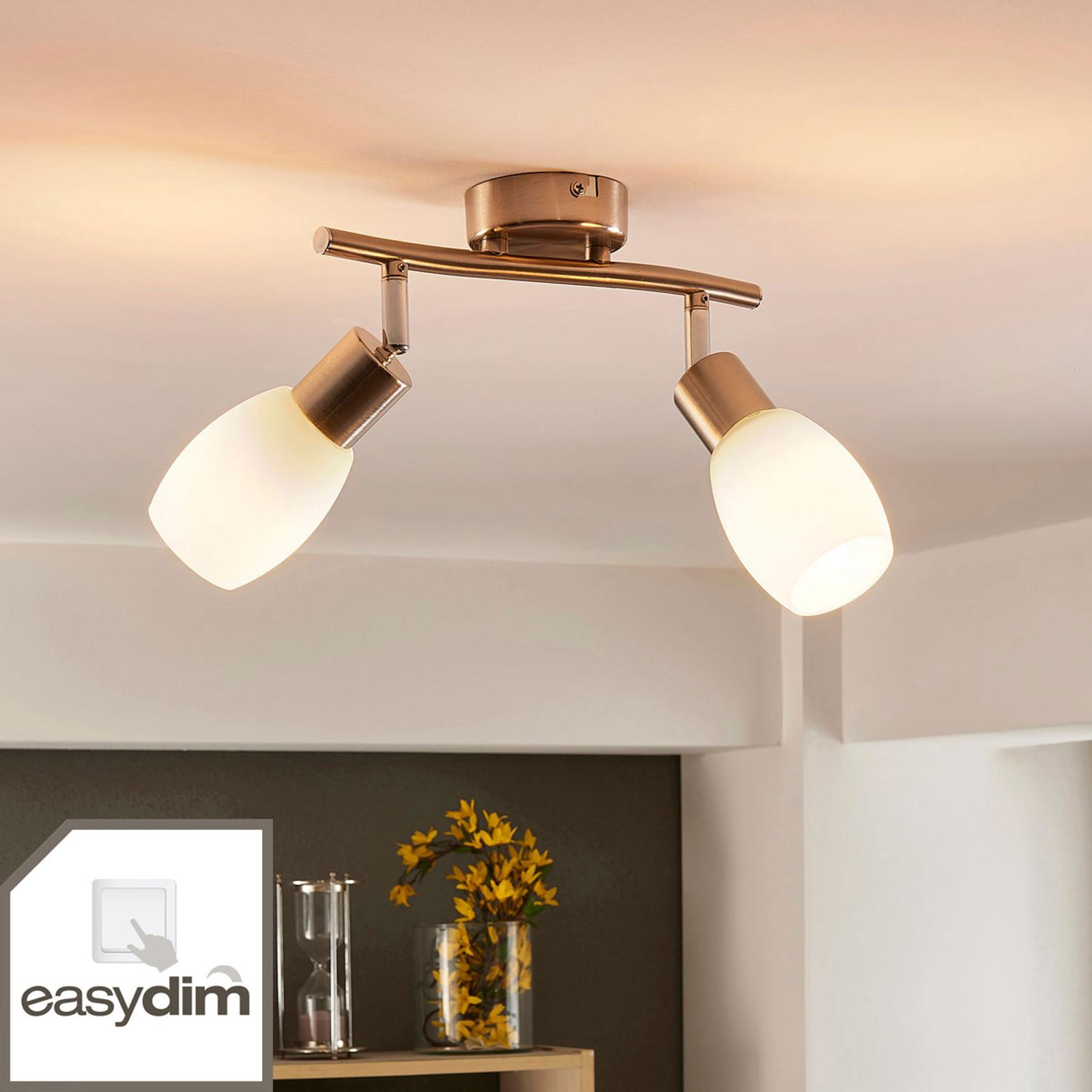 Arda - LED-spot til vegg eller tak, easydim
