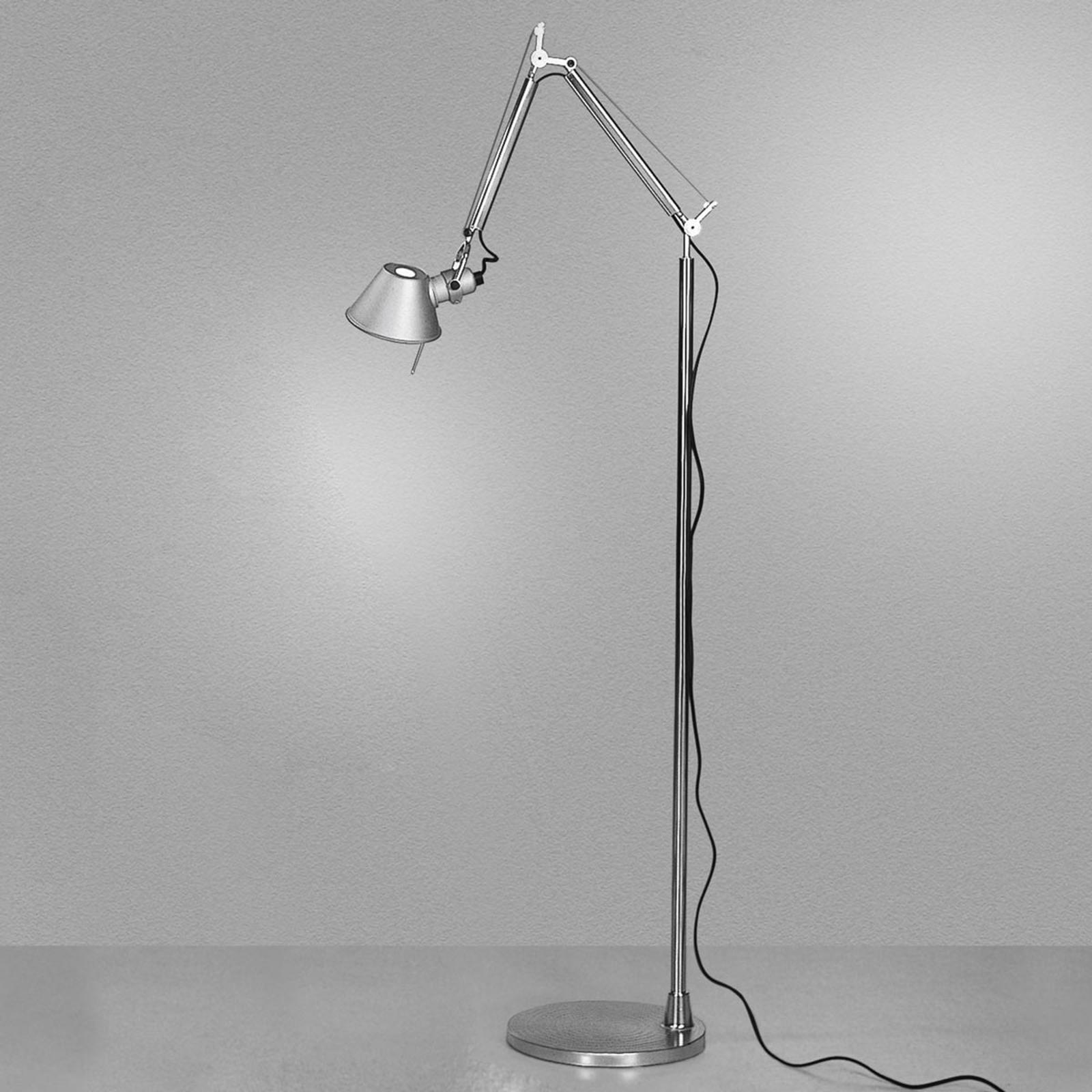 Lampadaire de designer épuré Tolomeo Micro