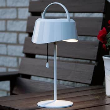 Solcellsdriven LED-bordslampa Cervia - lutbar