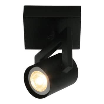 Lámpara de techo ValvoLED en negro