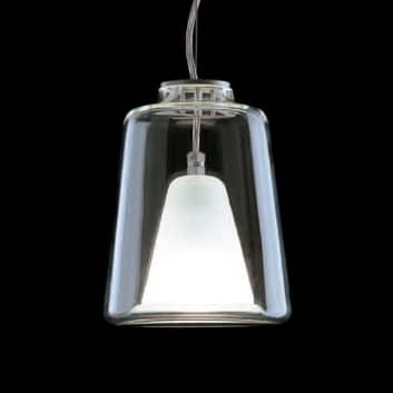 Hængelampe Lanterna, i Muranoglas