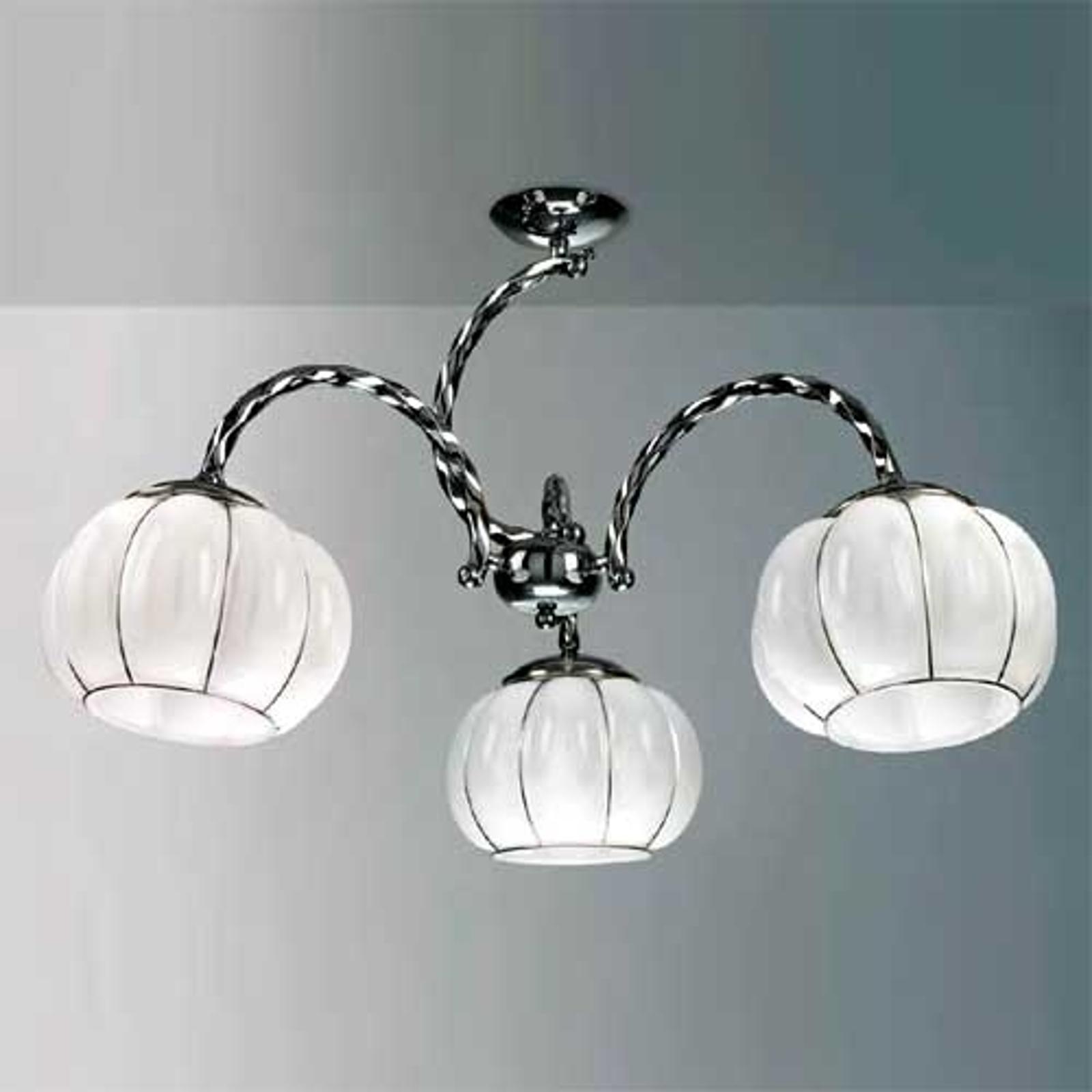 Elegante plafondlamp NUVOLA