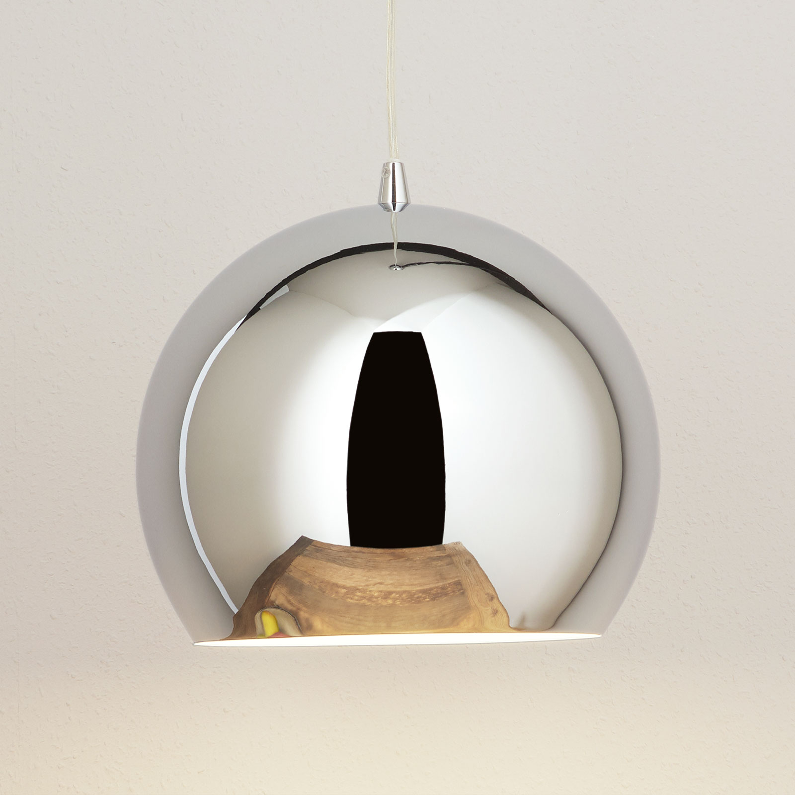 Bulle hanging light, chrome_1065018_1