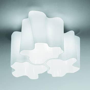 Artemide Logico plafondlamp 3-lamps 120° 33x33 cm