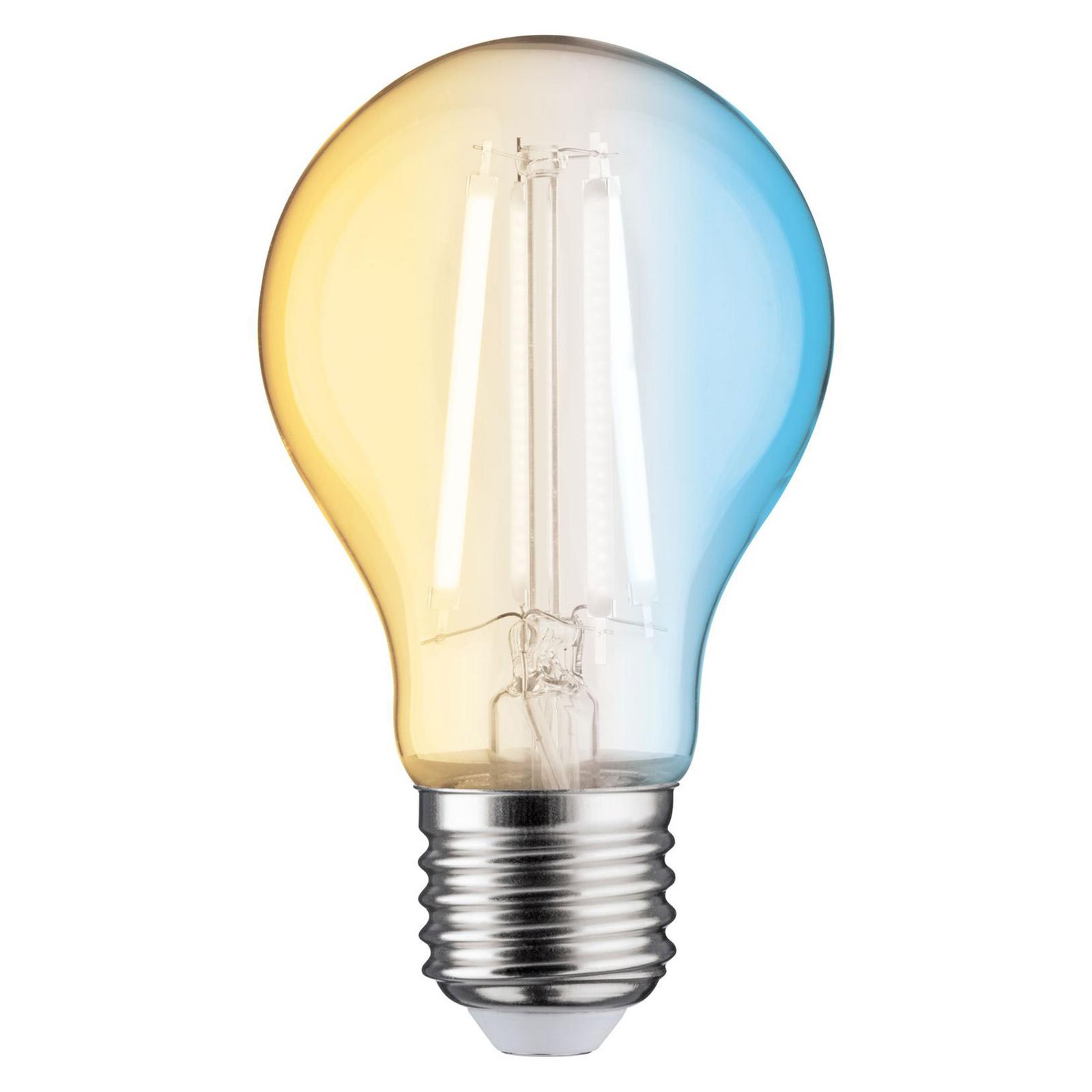 Paulmann LED-filamentpære E27 4,7W ZigBee CCT