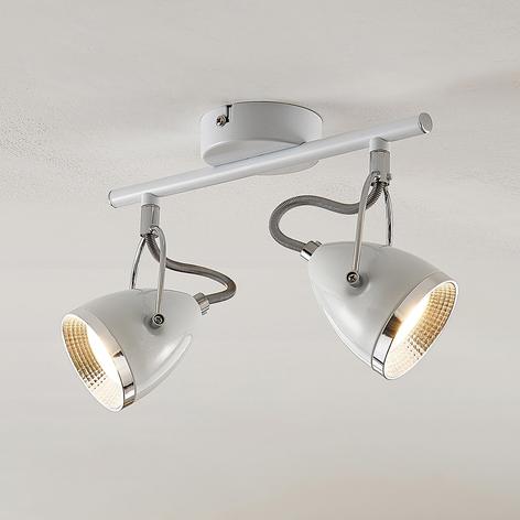 Lindby Jadon LED-Deckenstrahler weiß 2-flg.