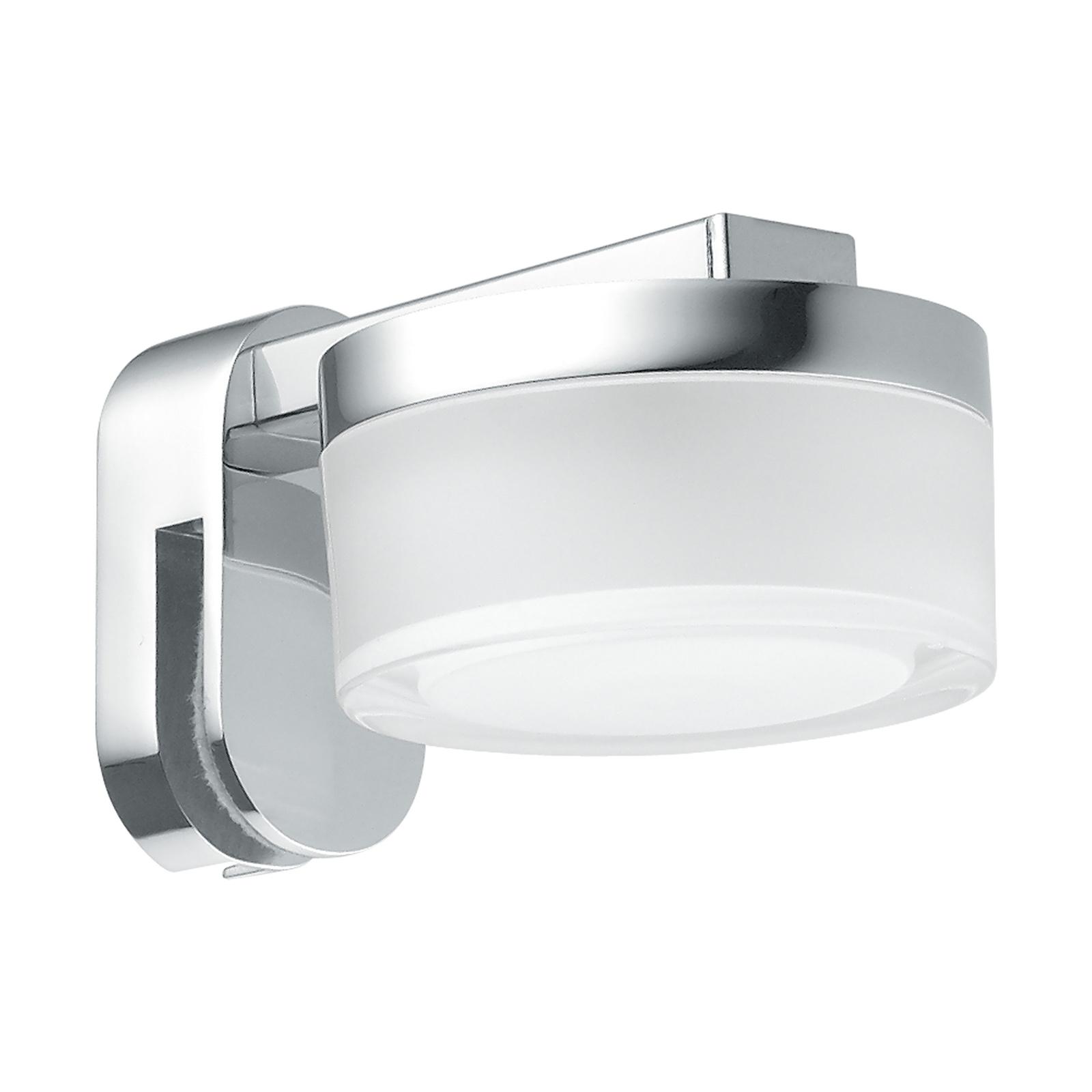 LED-Spiegelleuchte Romendo zum Aufstecken