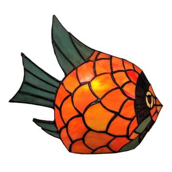 Dekoleuchte 6005, Fisch in Tiffany-Optik
