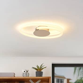 Lucande Ovala LED plafondlamp in chroom