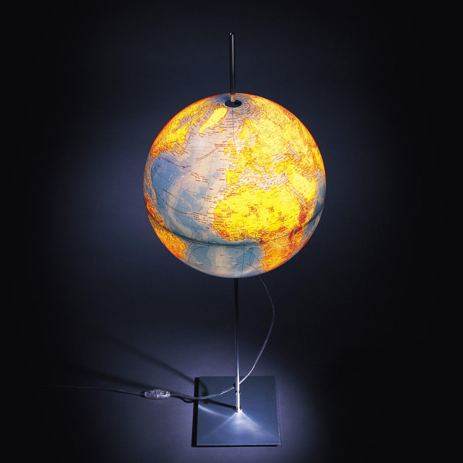 Lampadaire avec globe terrestre Globe Earth