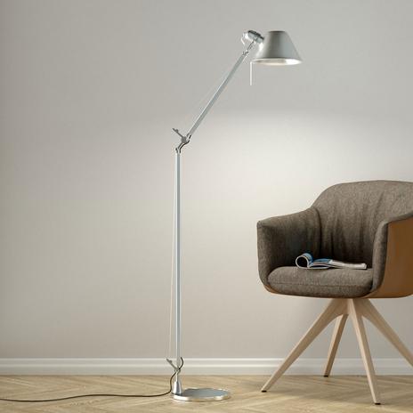 Elastyczna lampa stojąca Tolomeo Reading Floor