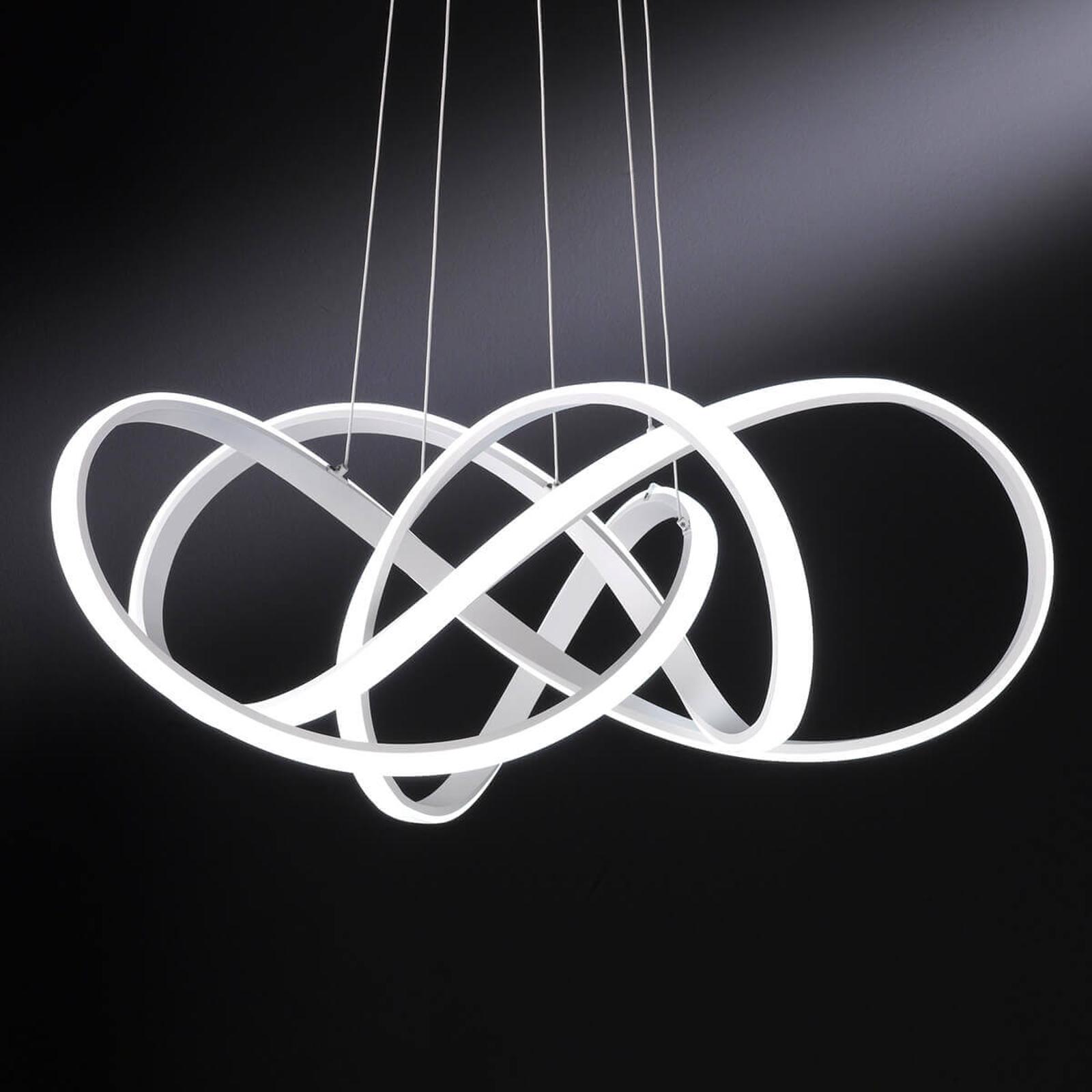 Heldere LED hanglamp Art in een elegant ontwerp