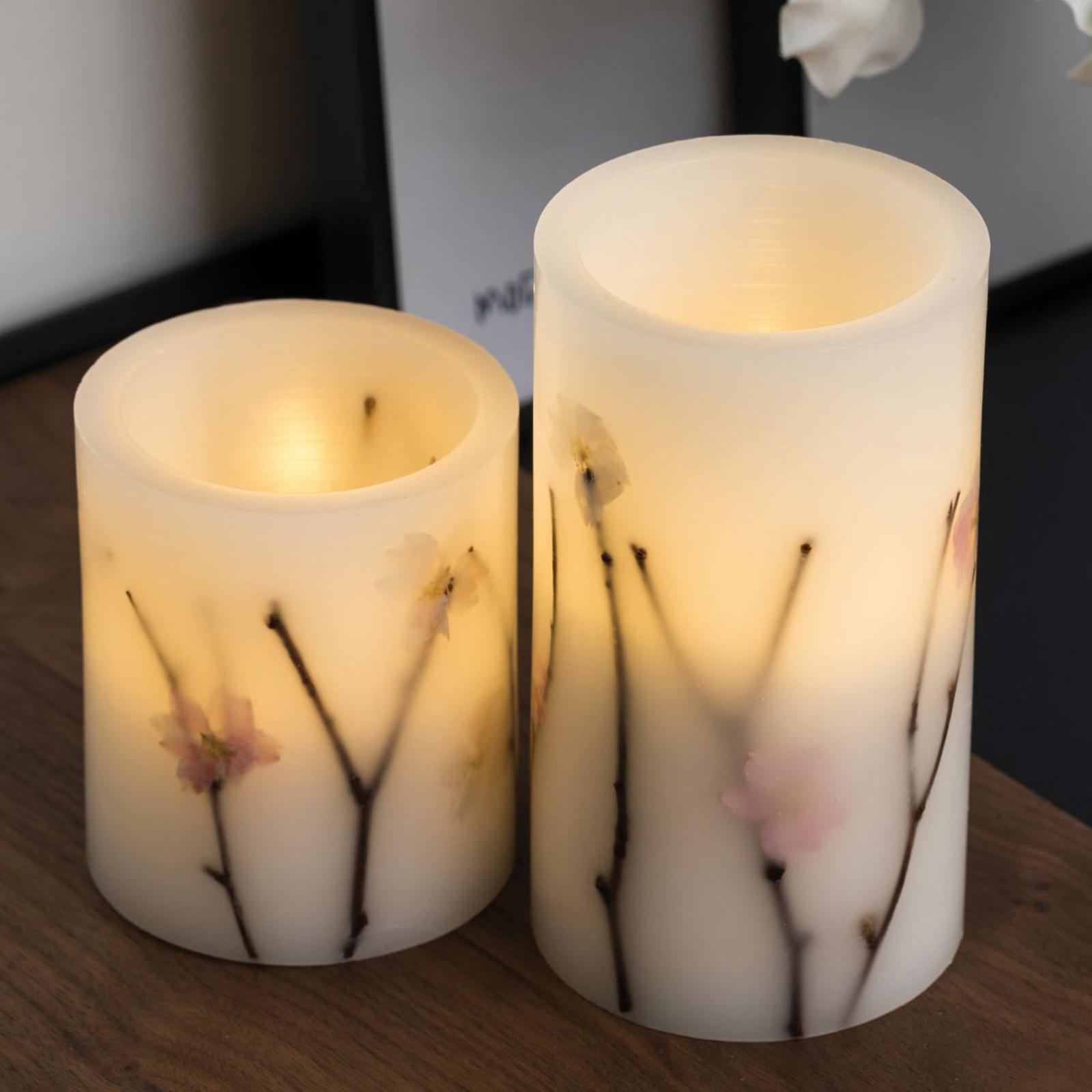 Pauleen Shiny Blossom Candle LED-Kerze 2er Set