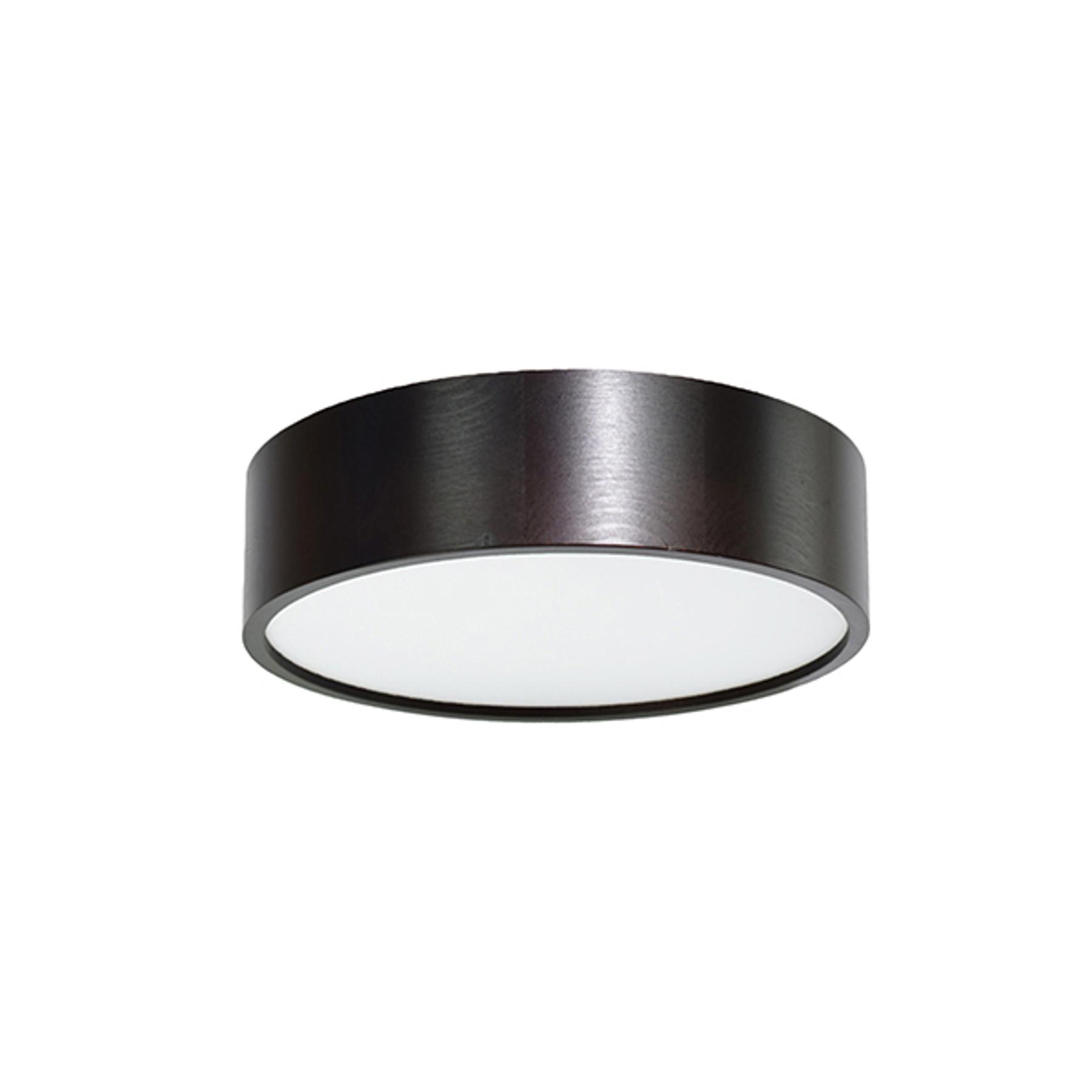 Lampa sufitowa LED Cleo, Ø 28cm, czarna