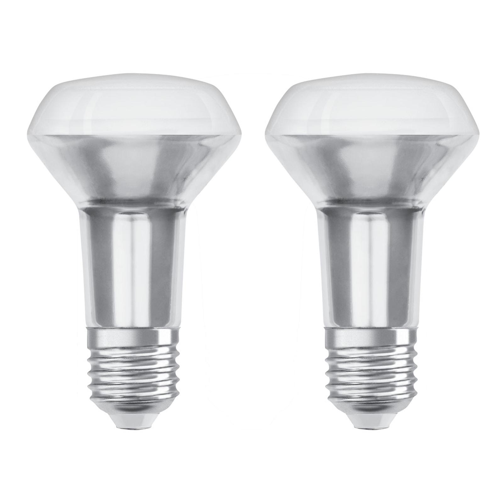 OSRAM LED-Reflektor E27 R63 4,3W 2.700K 36° 2er