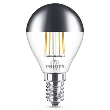 Philips E14 P45 LED-Kopfspiegellampe, 4W, 2.700 K