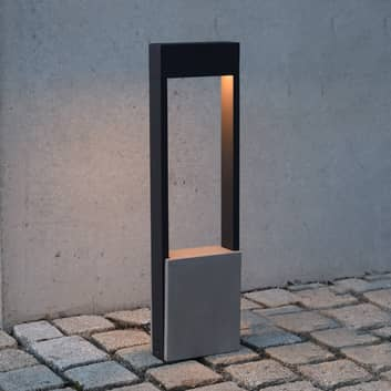 LED tuinpadverlichting Chertan met betonelement