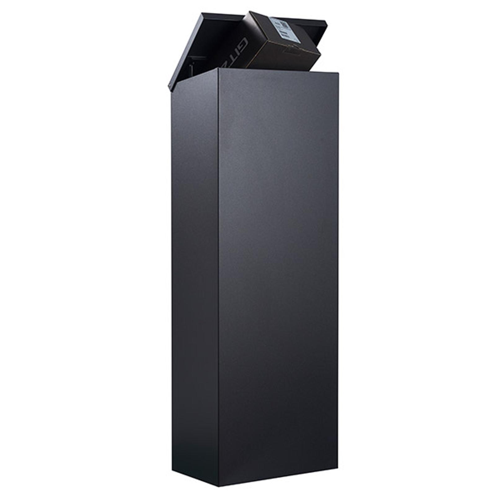 Staande brievenbus Allux 600S-B zwart