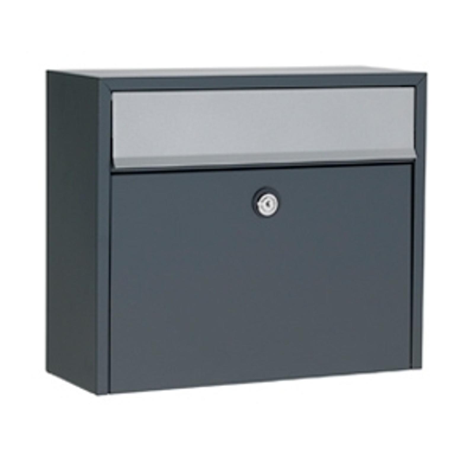 Jednoduchá poštovní schránka LT150, antracit, Euro