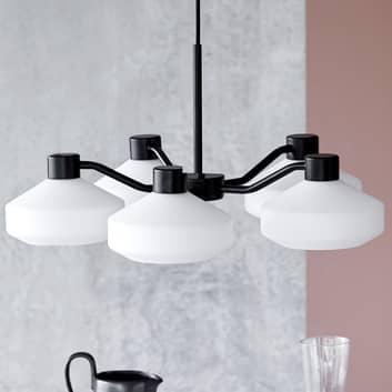 FRANDSEN Mayor lámpara de araña, 5 luces