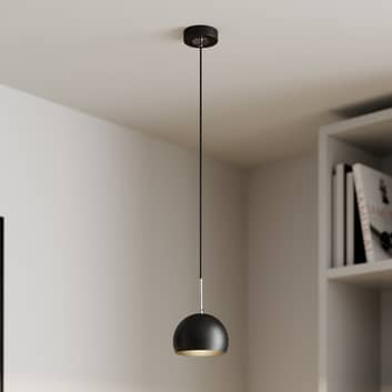 Cool hengelampe, 1 lyskilde, svart
