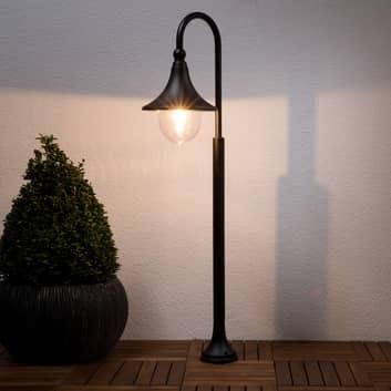 Lampa do oświetlania dróg Daphne w czerni