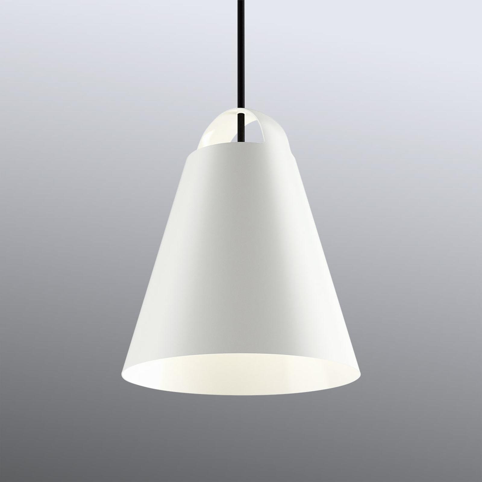 Witte design hanglamp Above 25 cm